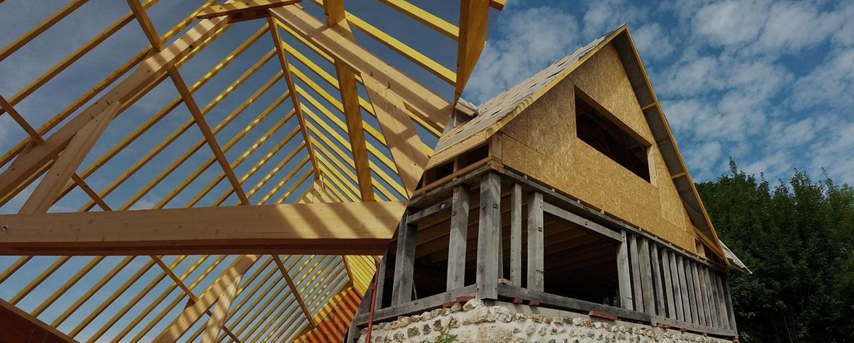 Constructeur Maison Ossature Bois 76 construction d'ossature en bois et d'extension en bois à